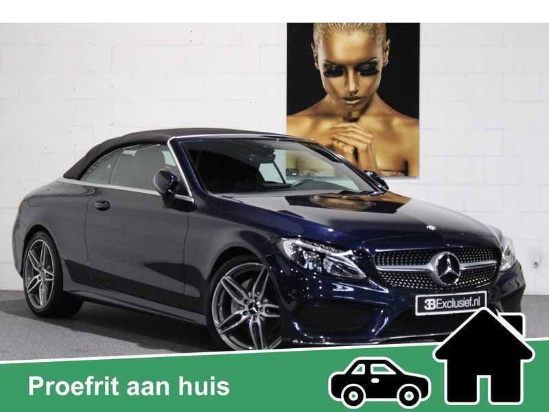 Mercedes-Benz C-Klasse Cabrio 180 Edition 1 AMG styling aut. afbeelding 1