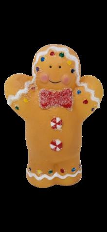 Gingerbread Man Light Topper photo