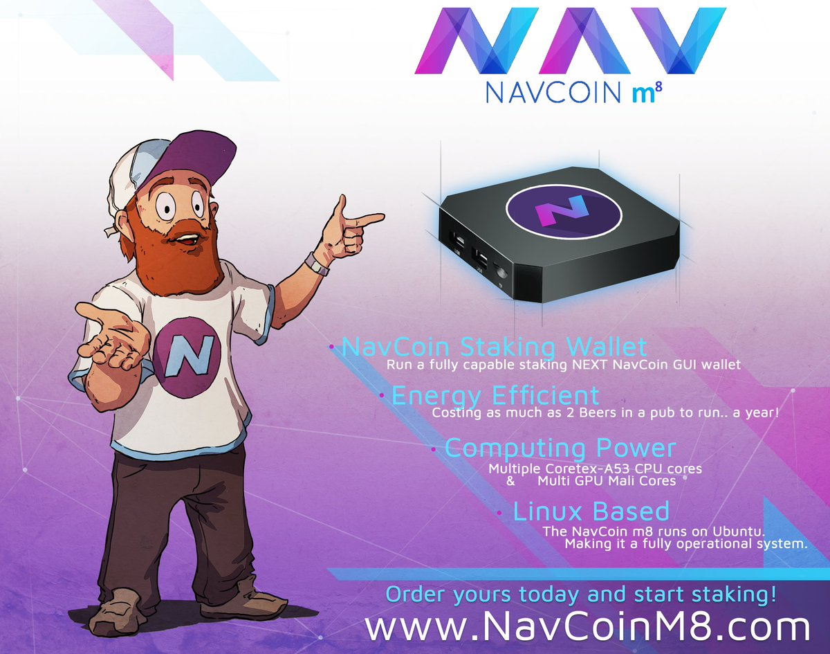 NavCoin m8
