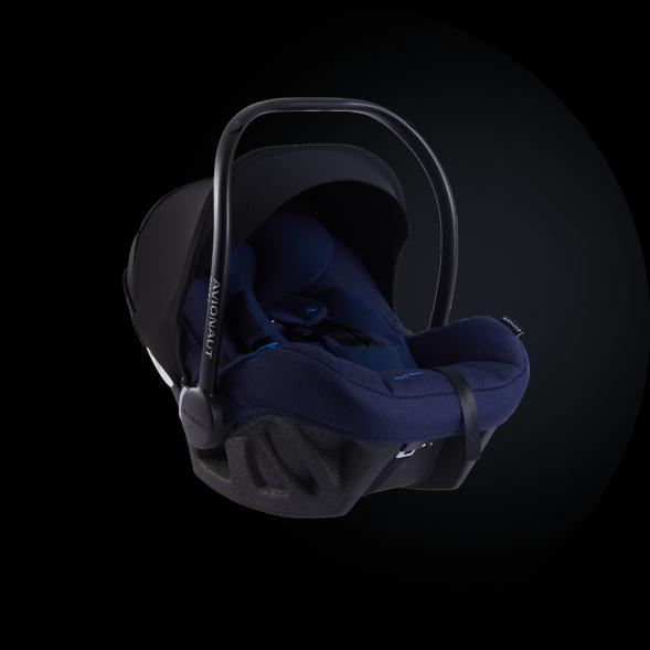 Navy Blue Pixel Pro car seat