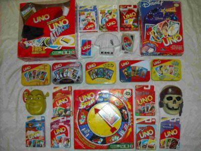 Different Types of Uno Games and Spinoffs