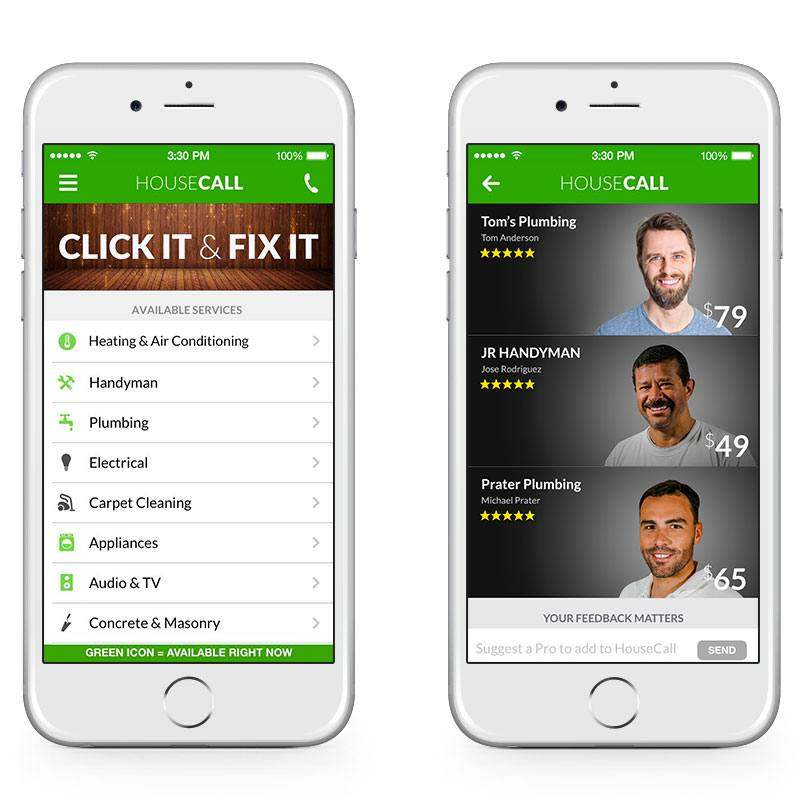 Housecall Consumer App Overview 1