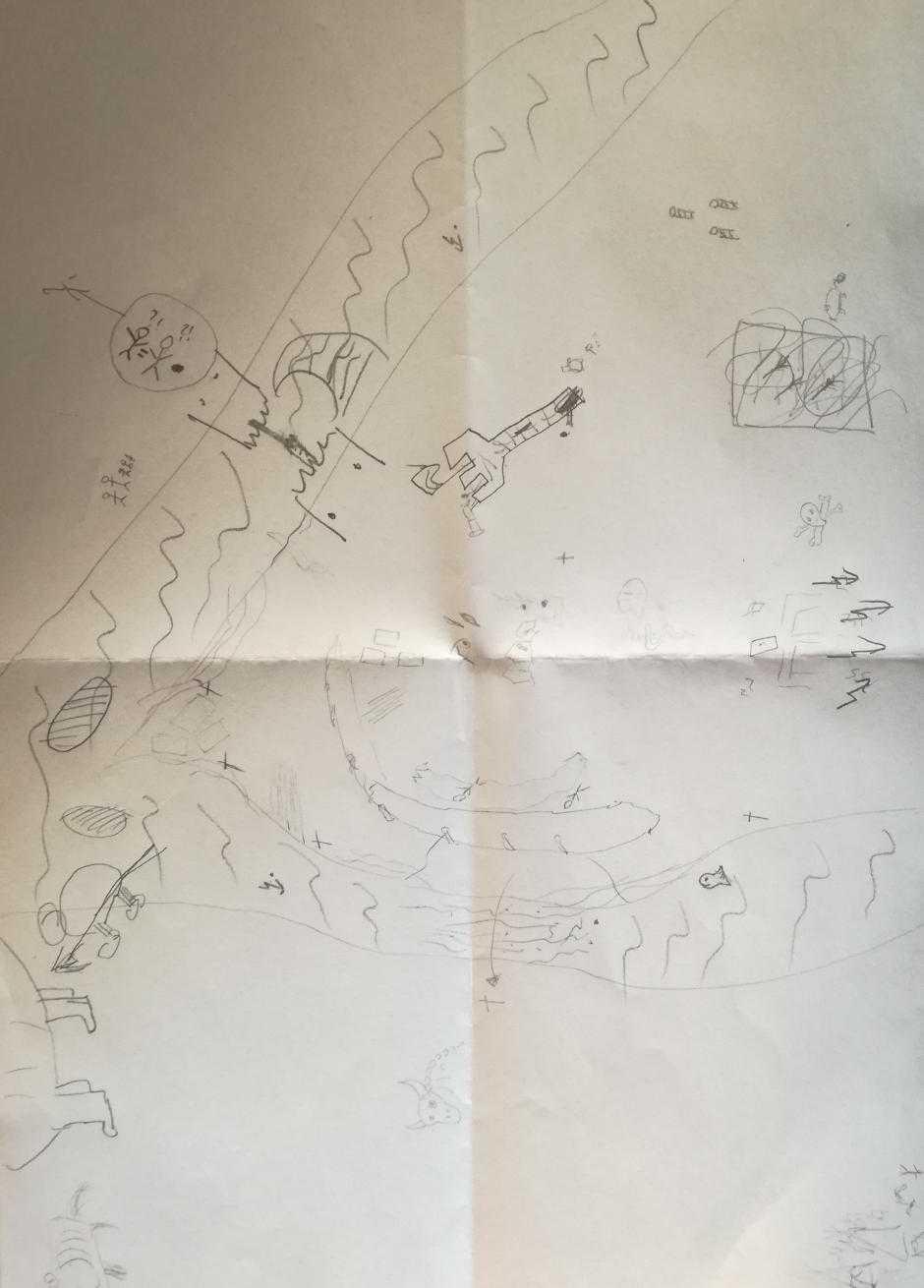 Karte, wie sie zum ende des Spiels aussah