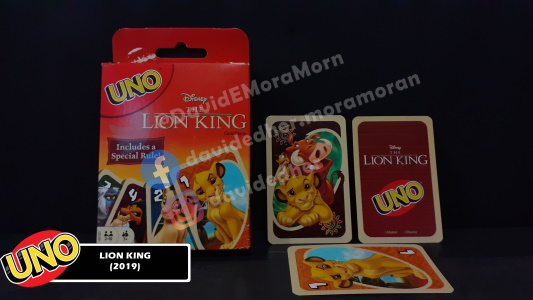 Lion King Uno Card Game