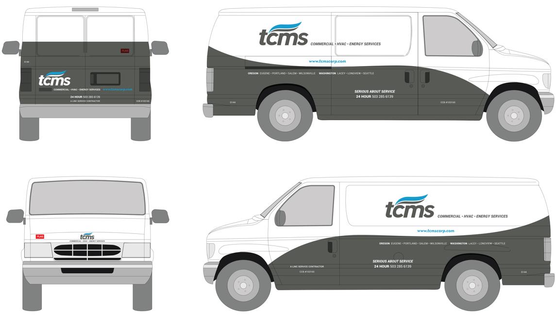 custom van wrap design