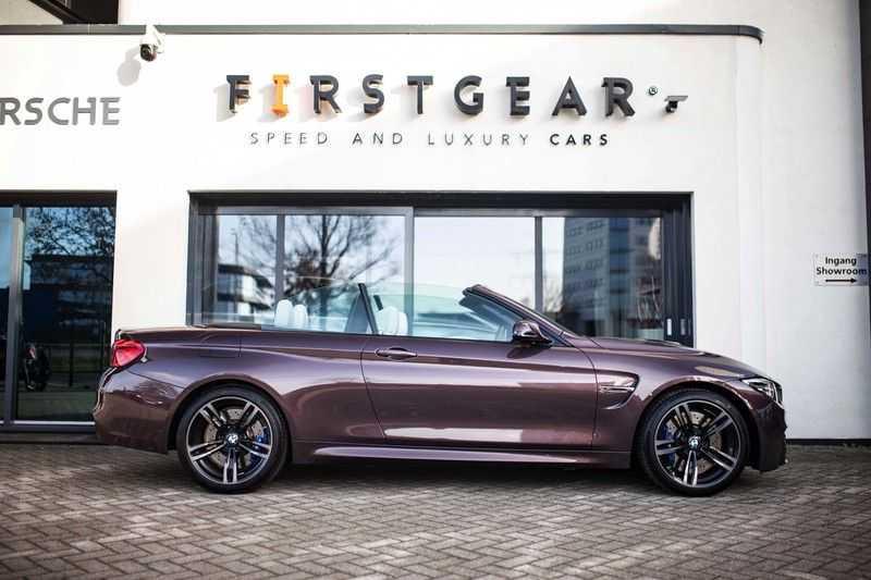 "BMW M4 Cabrio *Handgeschakeld / M-Sportuitlaat / Memory / HUD / 19"" / H&K* afbeelding 3"