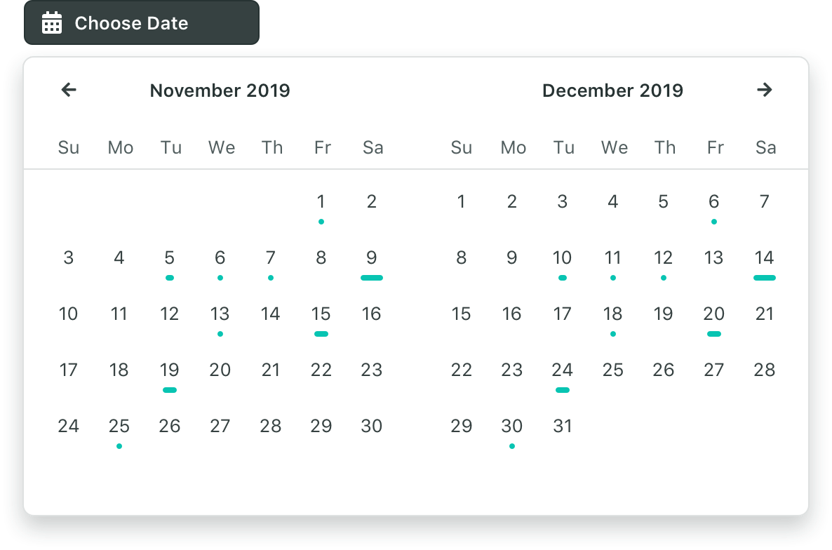 Single Date Picker