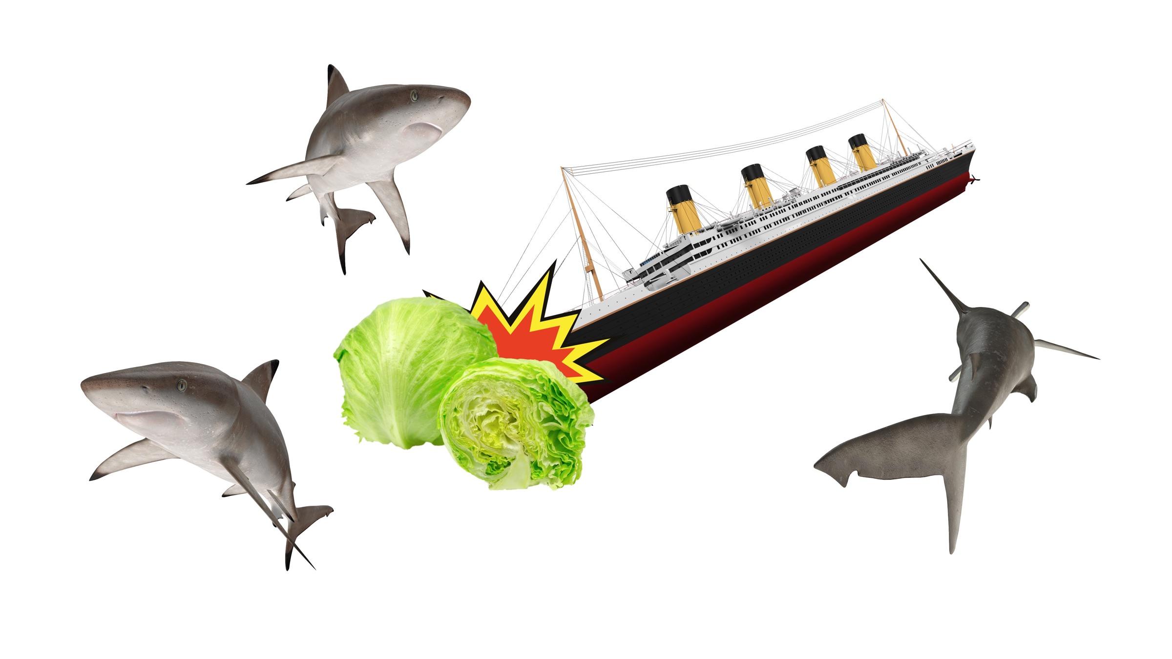 Sharknado Titanic Iceberg