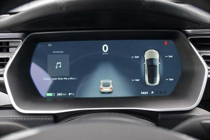 "Tesla Model S 90D Base / 422 PK / Panoramadak / Luchtvering / NL-Auto / 132dkm NAP / 21"" LMV / Leder afbeelding 5"