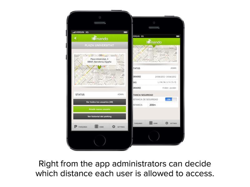 iomando app 2.0 —geolocation