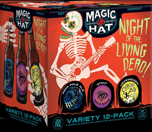 Night of the Living Dead Variety Pak-bottle