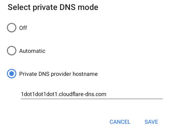DNS hostname