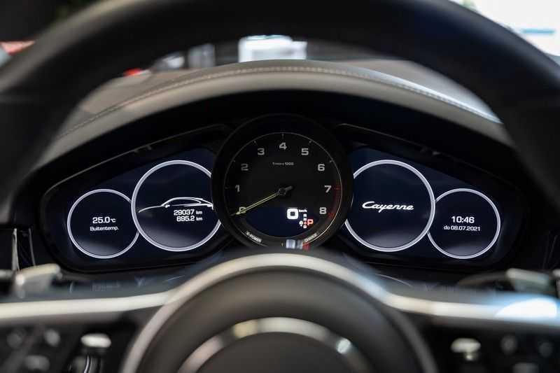 Porsche Cayenne Coupé Hybrid Sport Design Hoogglans 22' Adaptieve Sport Stoelen ACC Surround 3.0 E-Hybrid afbeelding 12