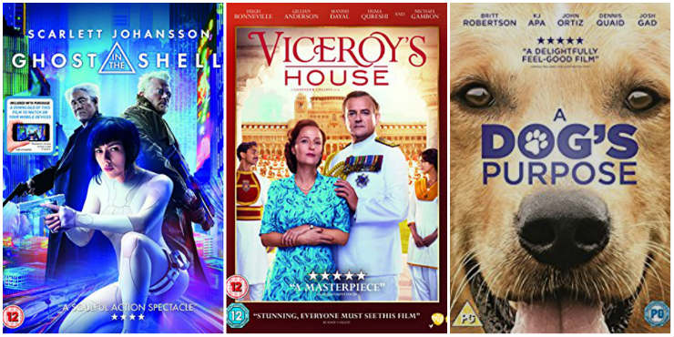 Ghost in the Shell, Viceroy's House, A Dog's Purpose