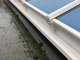 Image of cleared gutters