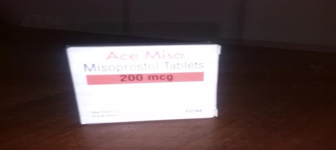 Misoprostol Abortion Pill