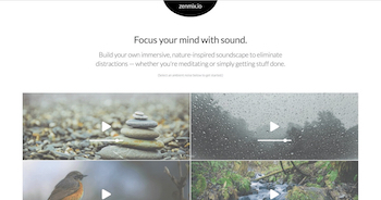image and link to zenmix.io - Ready to reduce stress, eliminate distractions, and live with more intention? Build your own immersive, nature-inspired meditation music.