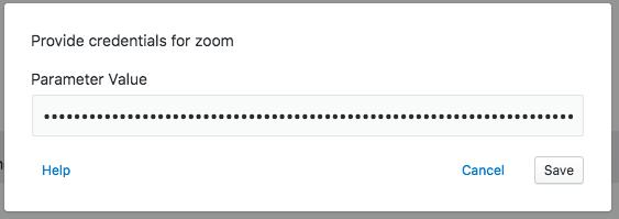 Zoom auth example