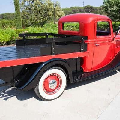 Ford V8 Flatbed Pickup 1937 7