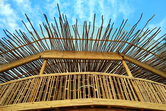 Artotel Bamboo - Luxury meets sustainability. Looking good with excellent bamboo architecture in Sanur, Bali.