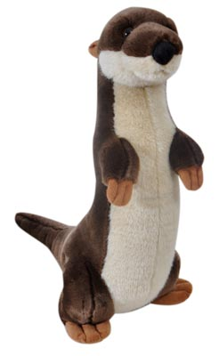 "The Petting Zoo: 14"" River Otter Standing"