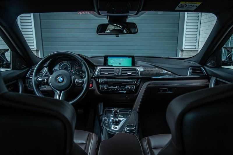 BMW 3 Serie M3 Competition DCTA, 450 PK, Facelift, Akrapovic, Harman/Kardon, Head/Up, LED, Surround View, Carbon, 2017, Org. NL!! afbeelding 8