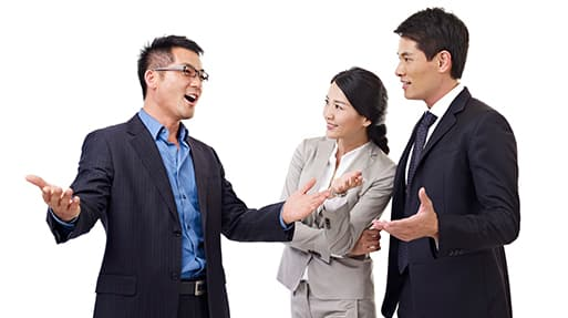 The art of conversation and manners in business China