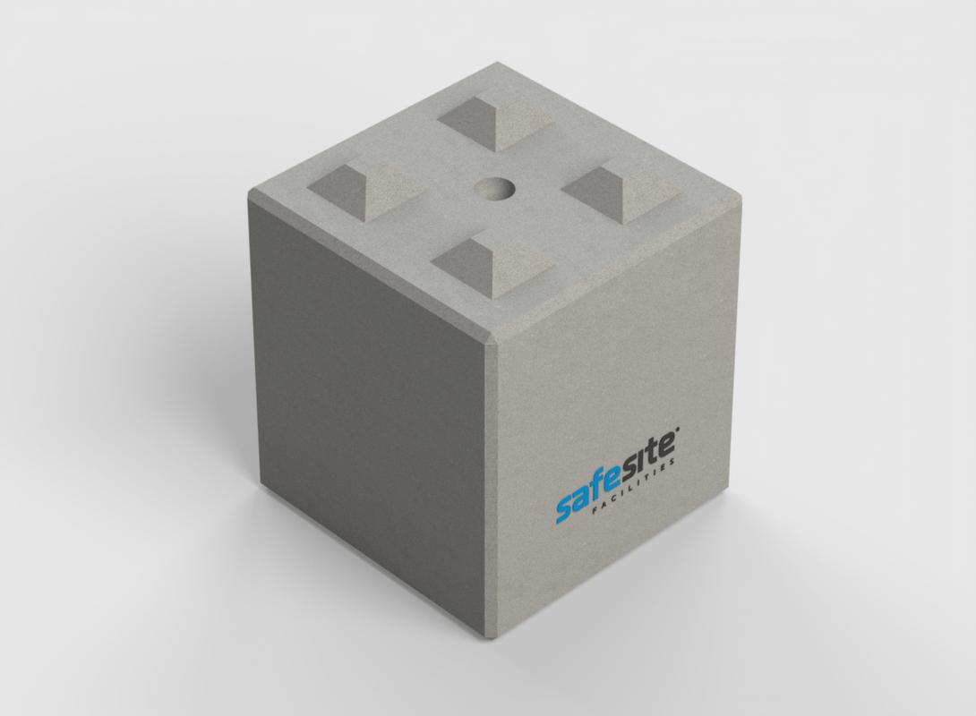 Concrete Lego Brick LG4