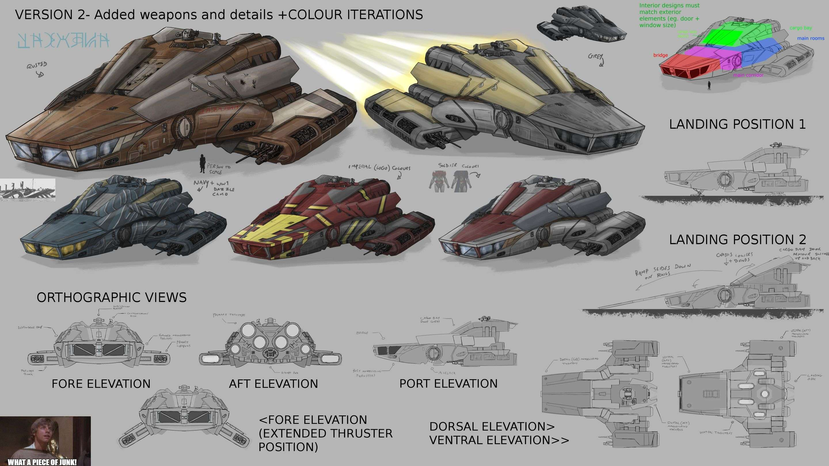 Soldier and Death: Hero Ship Developments
