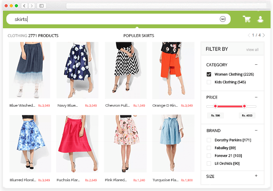 Shopify Faceted Search