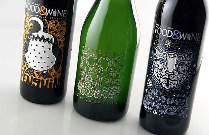 Custom engraved champagne bottles for special events by Etching Expressions