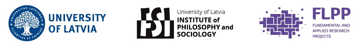 University of Latvia, Institute of Philosophy and Sociology, FLPP logos