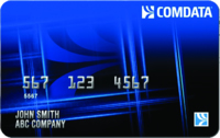 Comdata card