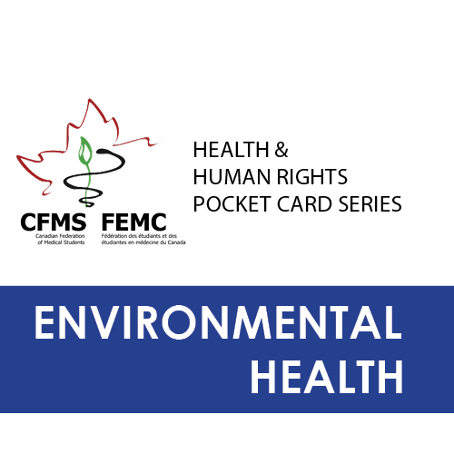Download environmental health pocket card