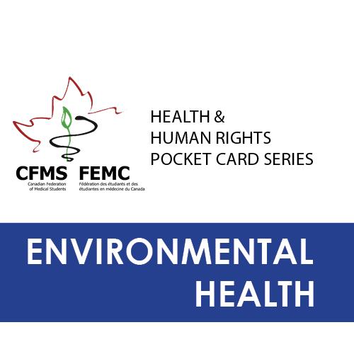 Download environmental health pocket card