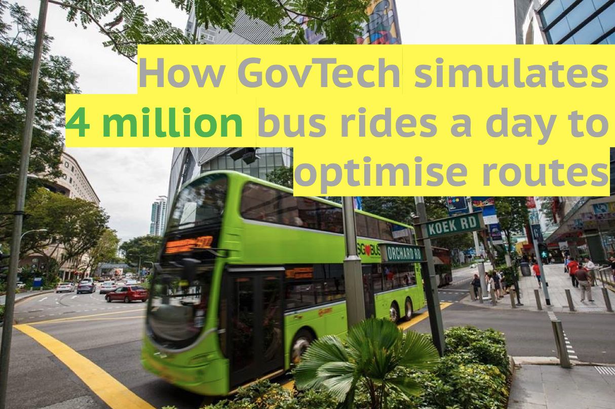 how govtech simulates four million bus rides a day