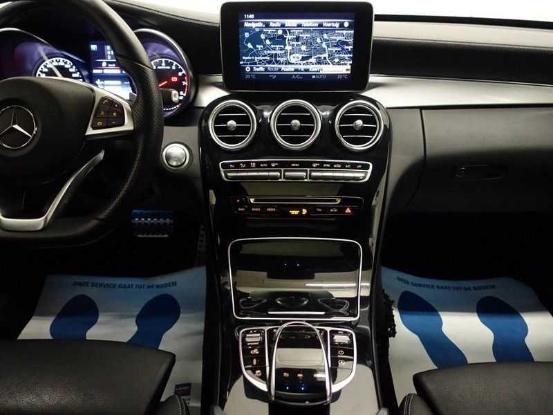 Mercedes-Benz C-Klasse 43 AMG 4M Black Series 368pk Autom- Schuifdak, Burmester, Leer, MBUX, Camera, Full! afbeelding 11