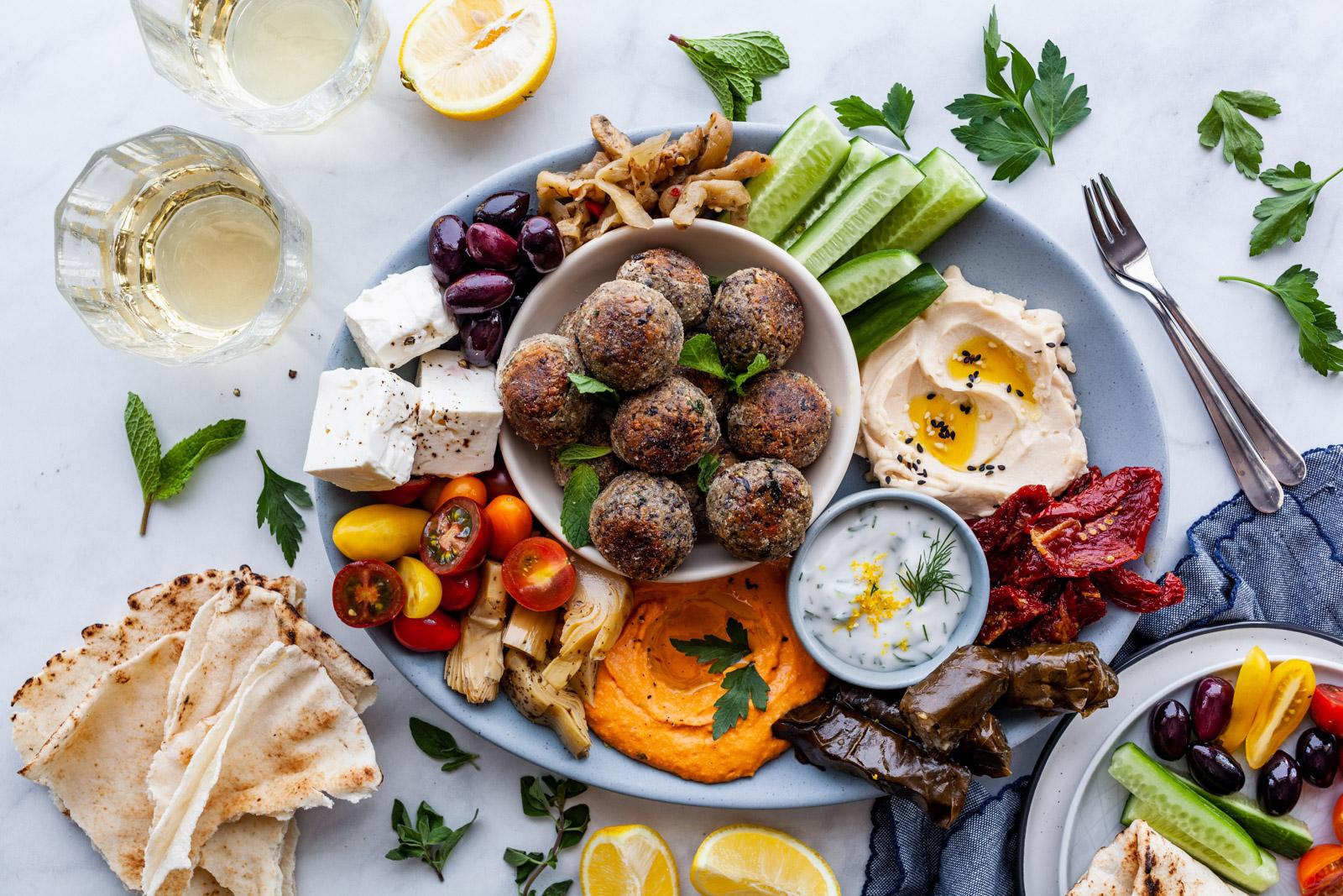 Vegan Greek Meatballs (Keftedakia)