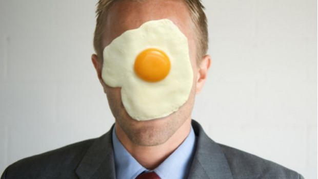 Sometimes the most efficient of an HR Manager can end up with egg on his face