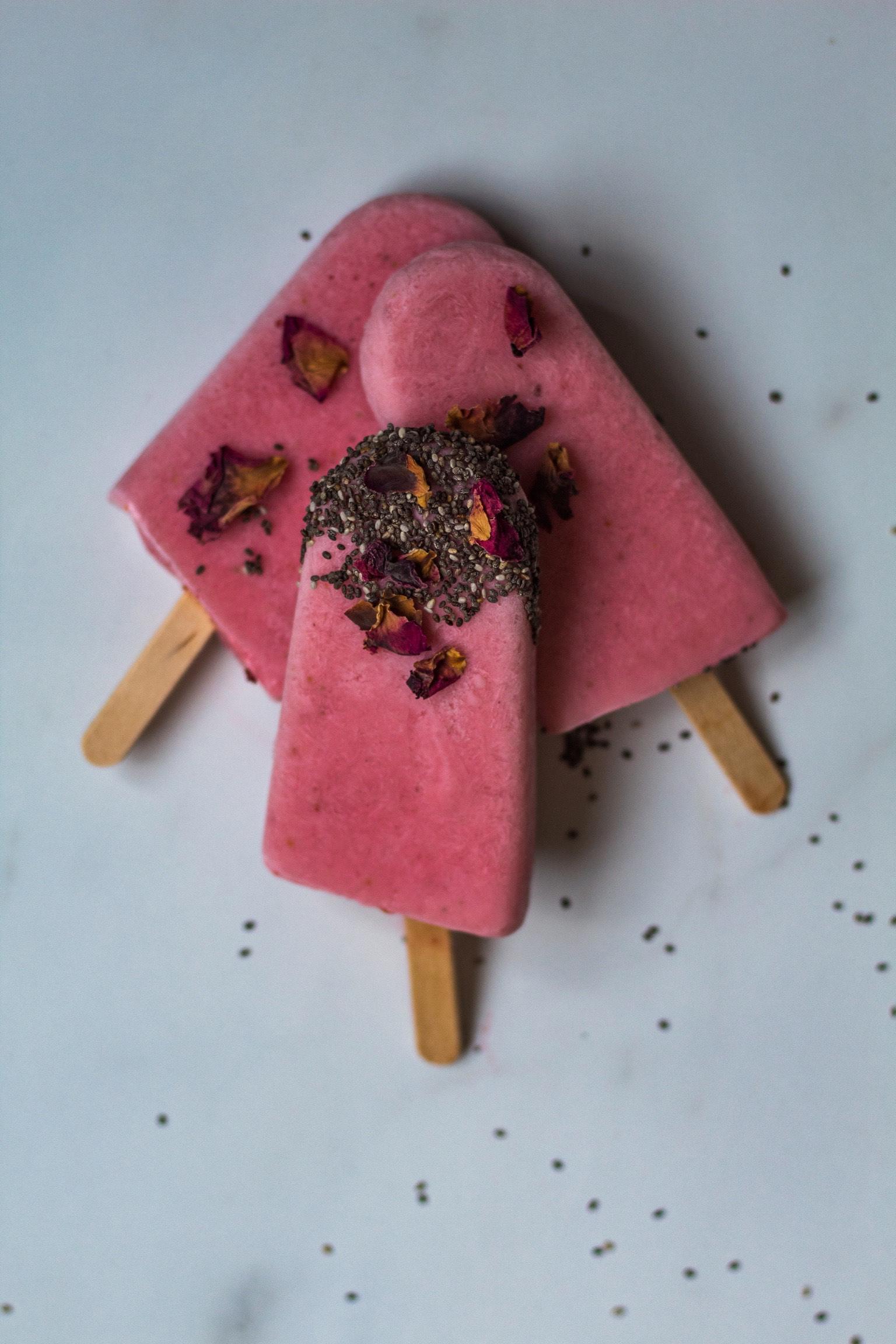 Kefir popsicles