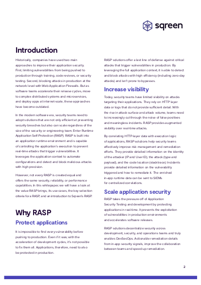 RASP Essential Guide page 1