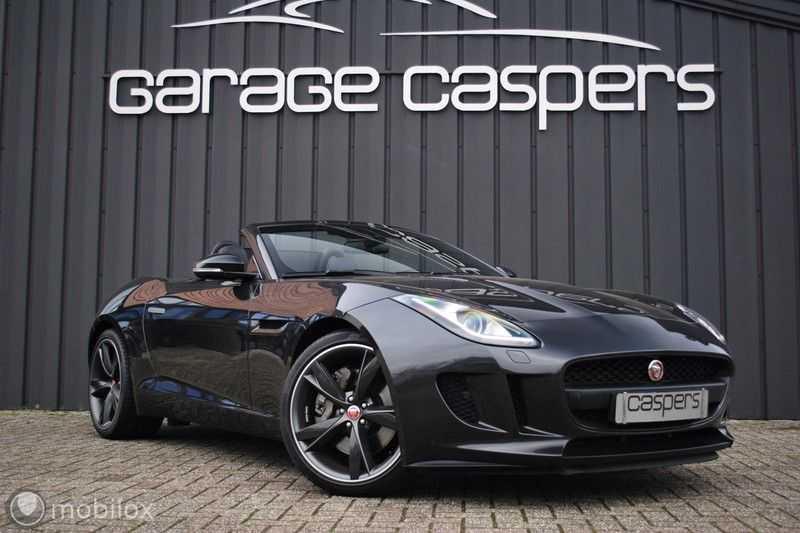 Jaguar F-Type 3.0 V6 Convertible   398 Pk, 500 Nm   Leder   afbeelding 1