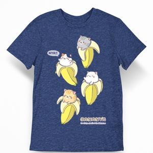 Juniors Bananya Shirt Rolled Sleeve Tee