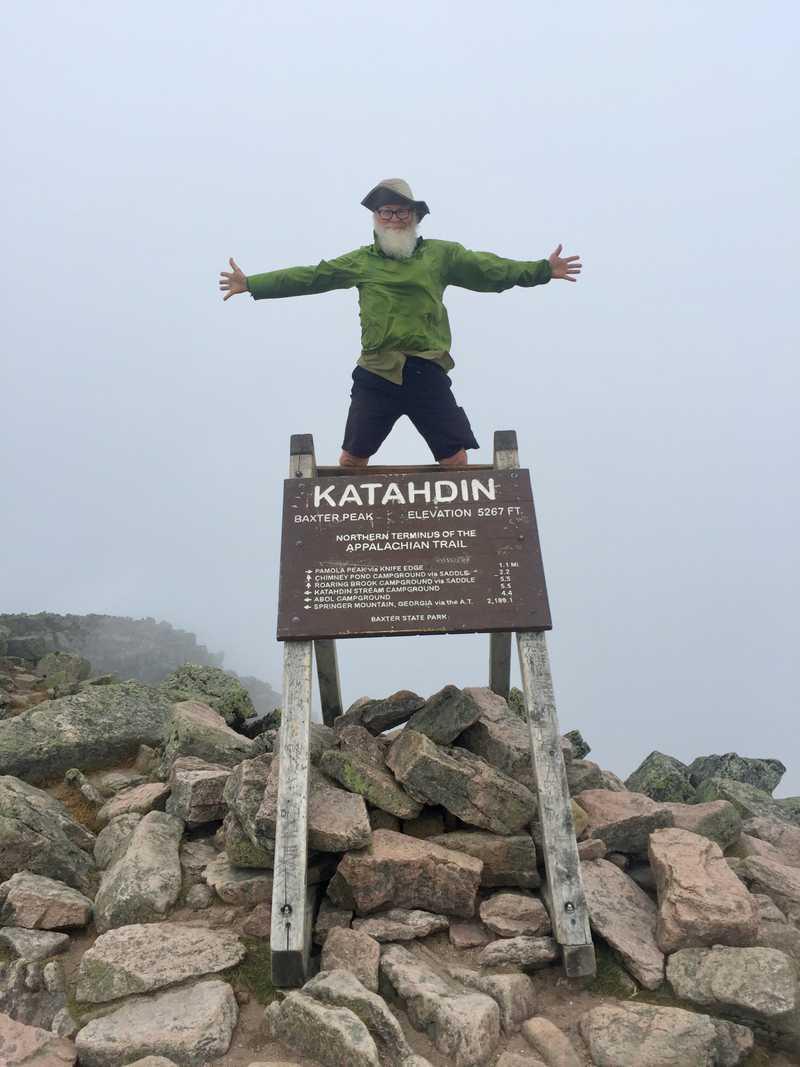 Gravity on Mt. Katahdin