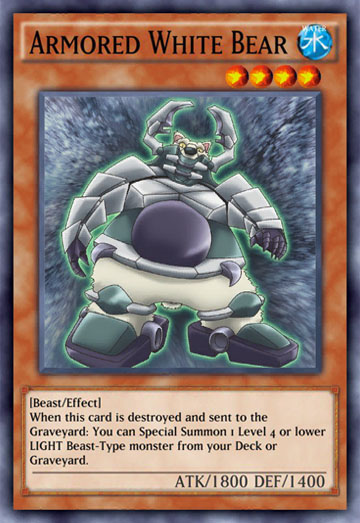 Duel Links Card: Armored%20White%20Bear
