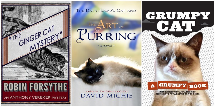 The Ginger Cat Mystery, The Art of Purring, Grumpy Cat: a grumpy book