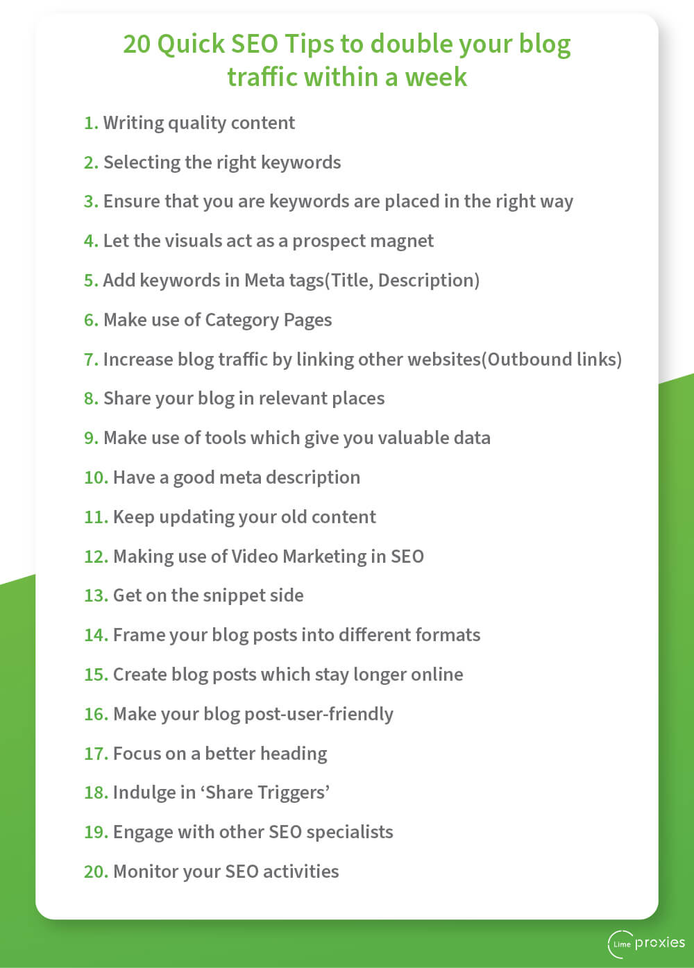 SEO Tips For Blog