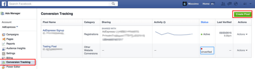 Convert facebook leads