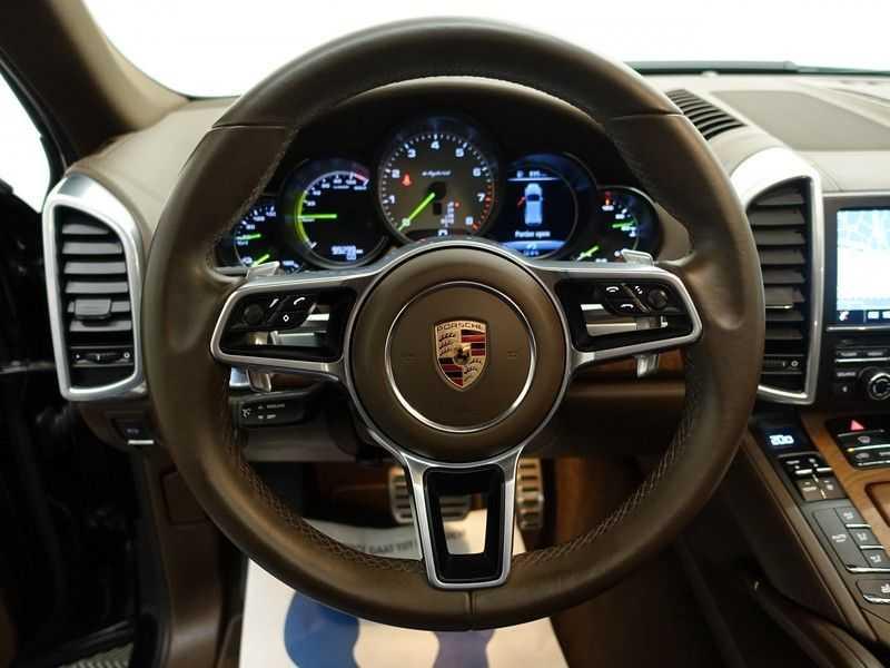 Porsche Cayenne 3.0 S E-Hybrid Sport Plus 334pk Aut- Panodak, Bose, Leer, Camera, Full! afbeelding 16