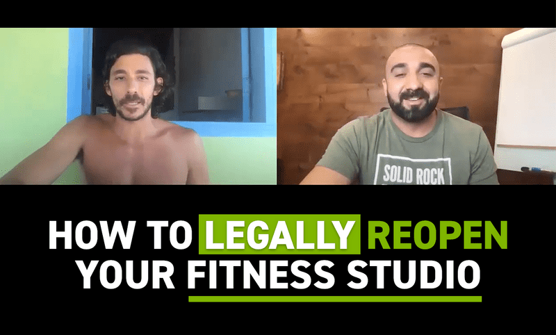The Legal Way To Reopen Your Fitness Studio